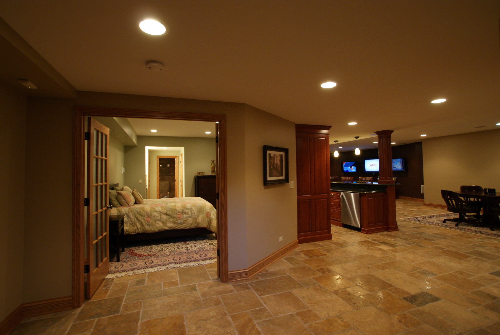 Bathroom Floor Idea Basement Remodeling